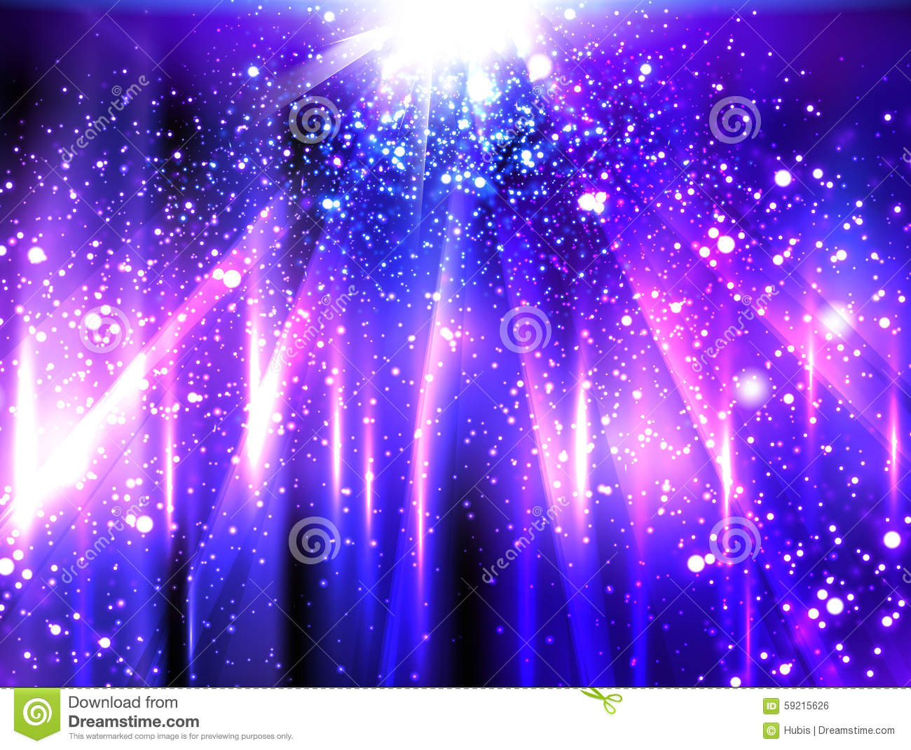 Light Neon Party Background Stock Vector - Image: 59215626