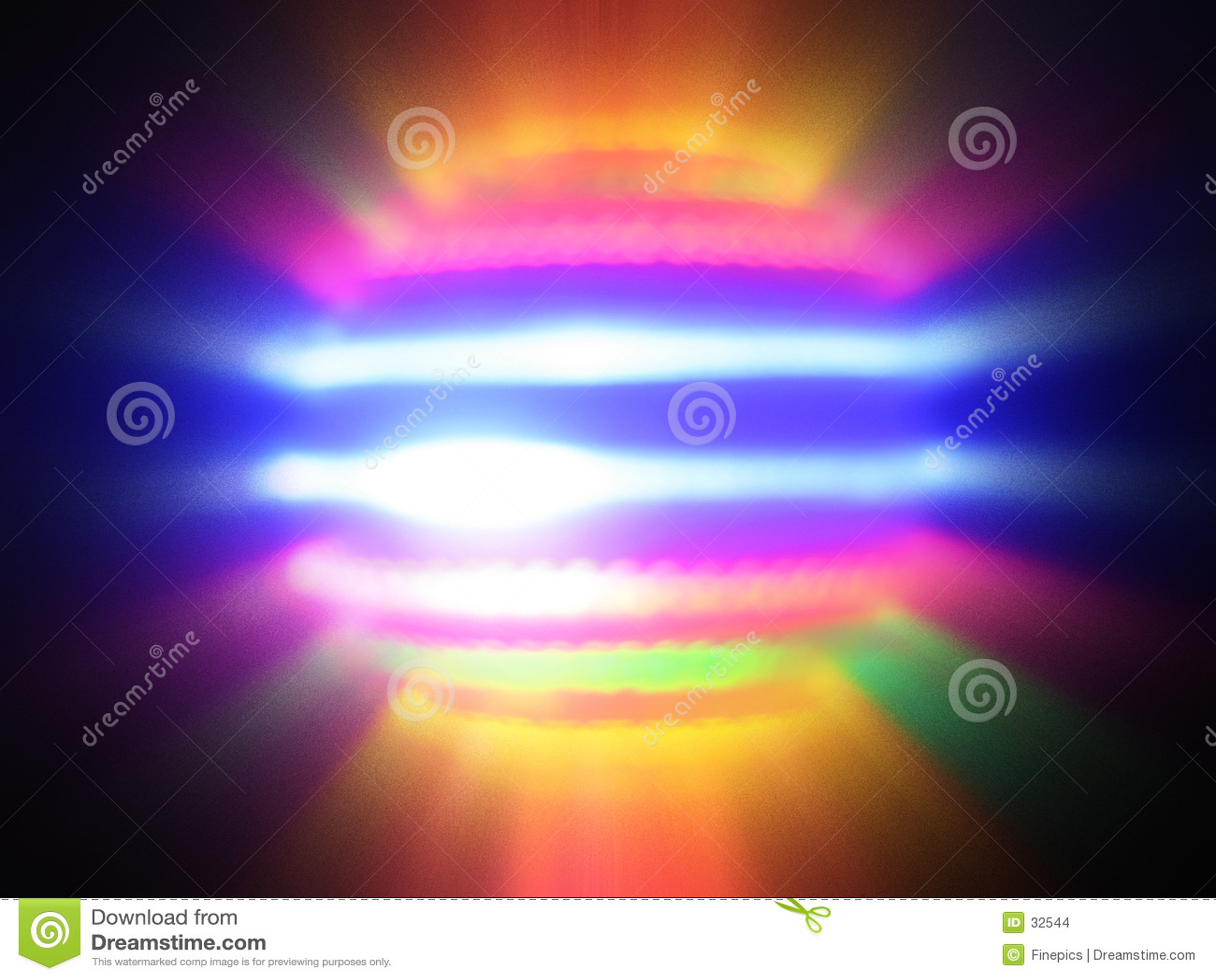 Light Orb Blur Spin