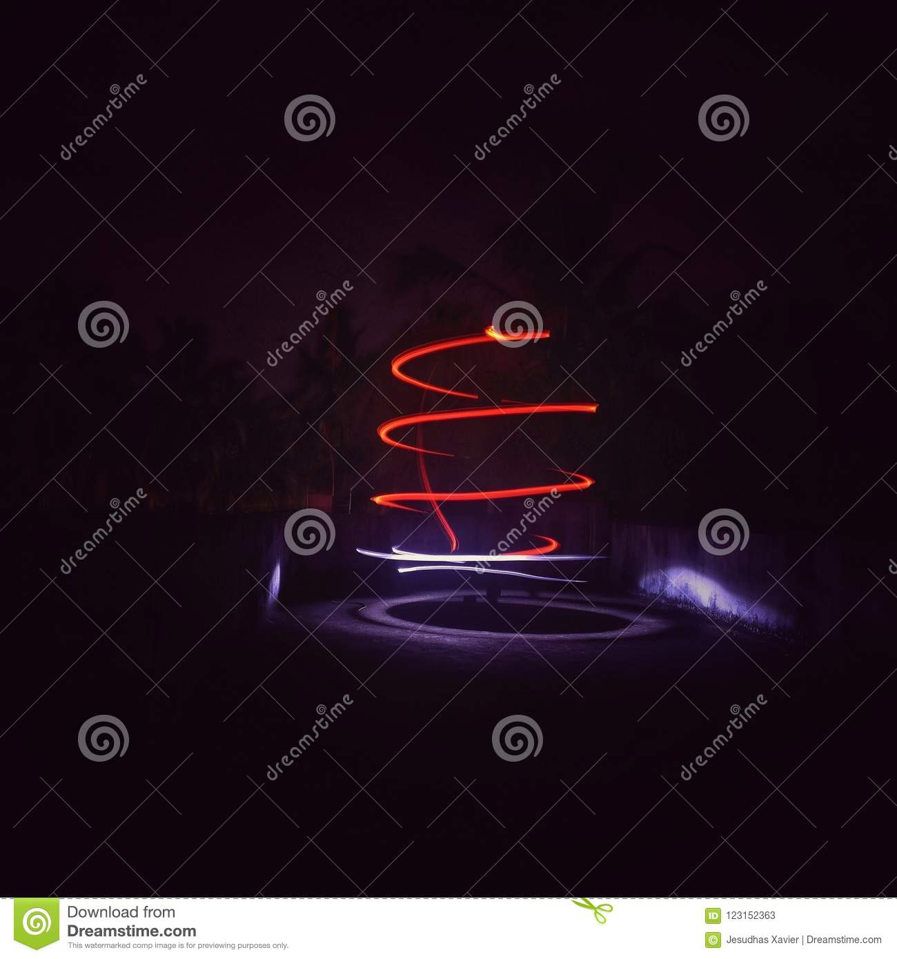 Light Painting Stock Image Image Of Snapseed Light 123152363