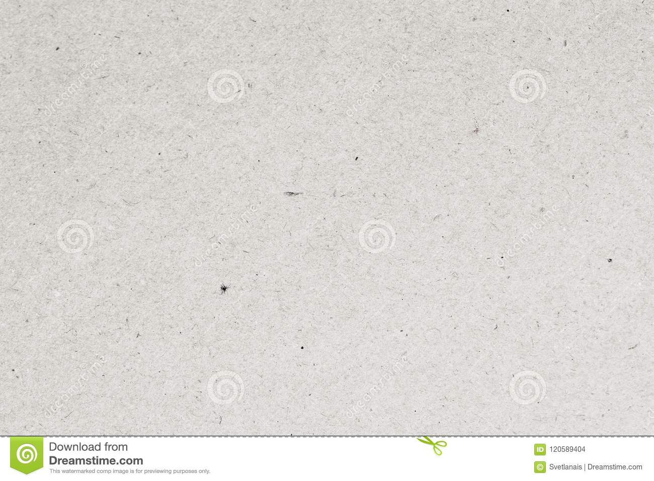 Light paper texture cardboard background close-up. Grunge old paper surface texture with small inclusions of cellulose