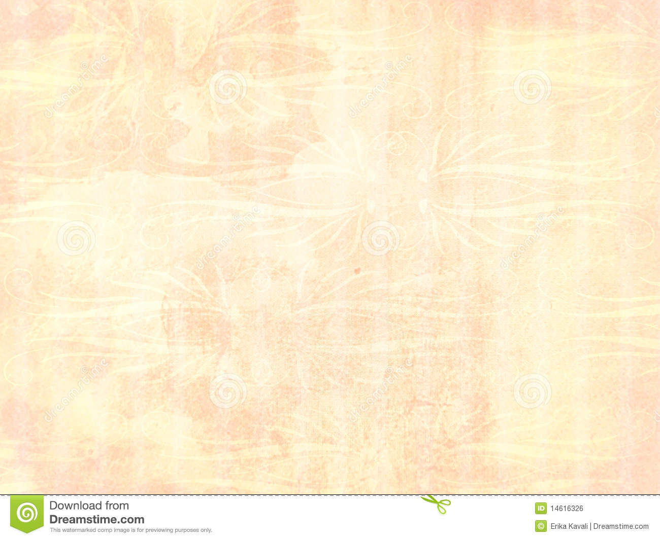 light peach ornament background royalty free stock image