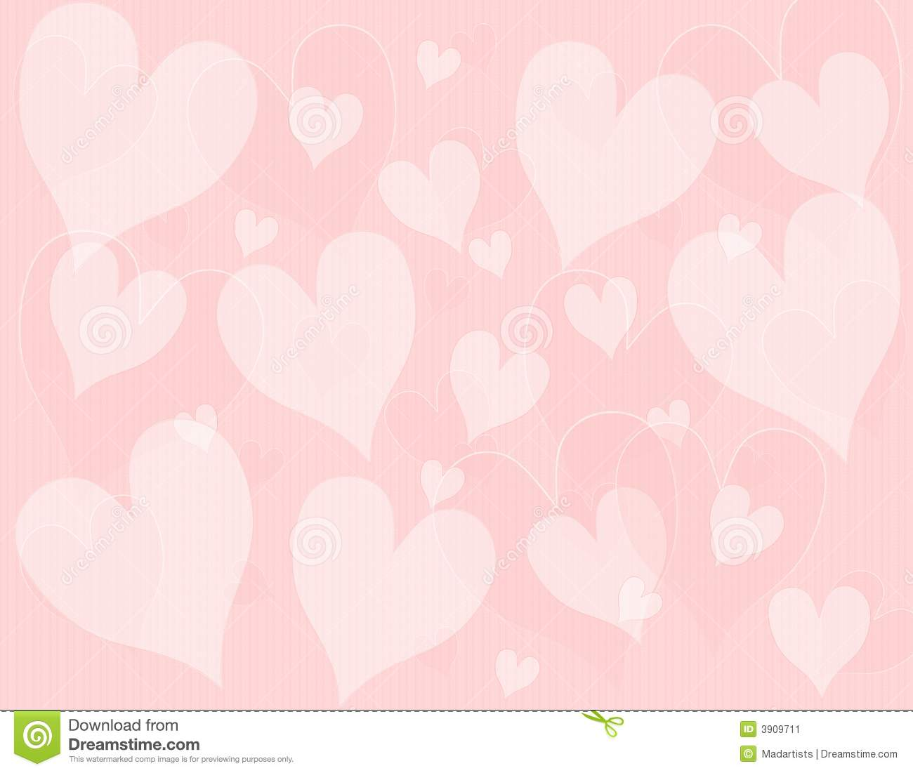 Light Pink Hearts Background Pattern Stock Illustration ...