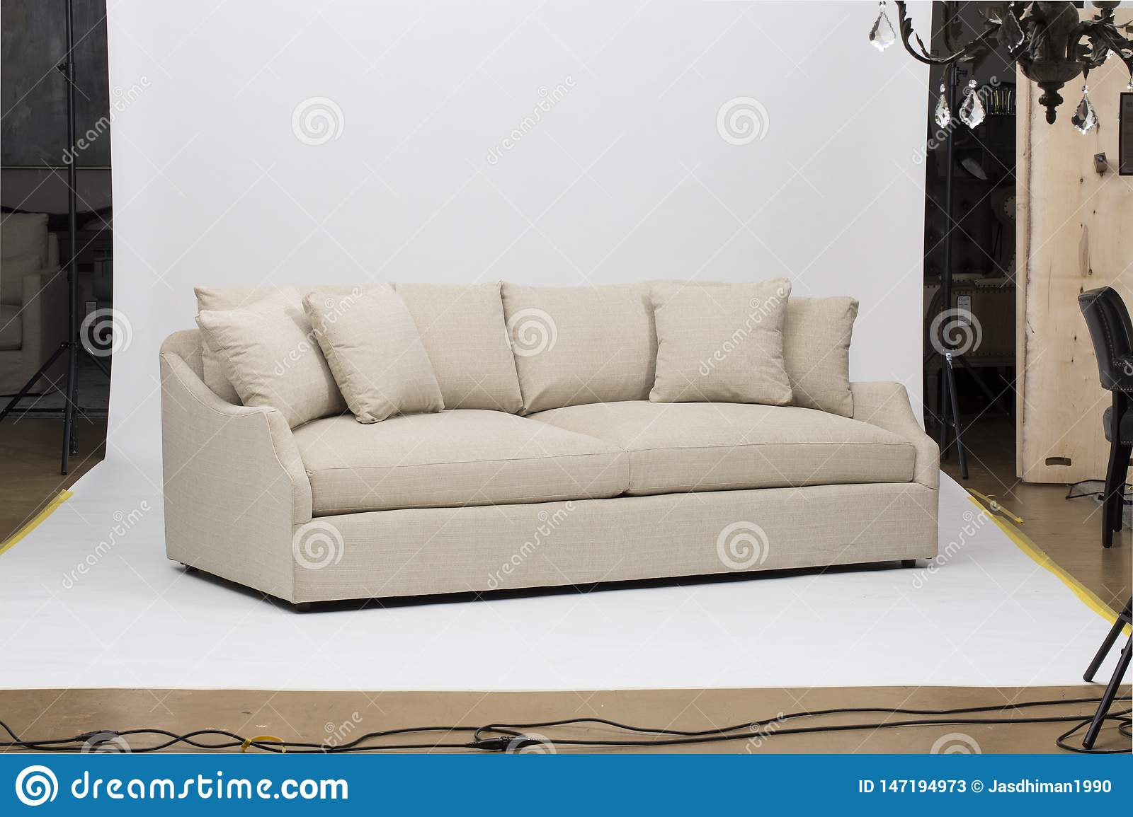 Light Pink Sofa Sofa Bed Christine Light Gray Loveseat White And Pink Pillow With White Background Image Stock Image Image Of Armchair Commercial 147194973