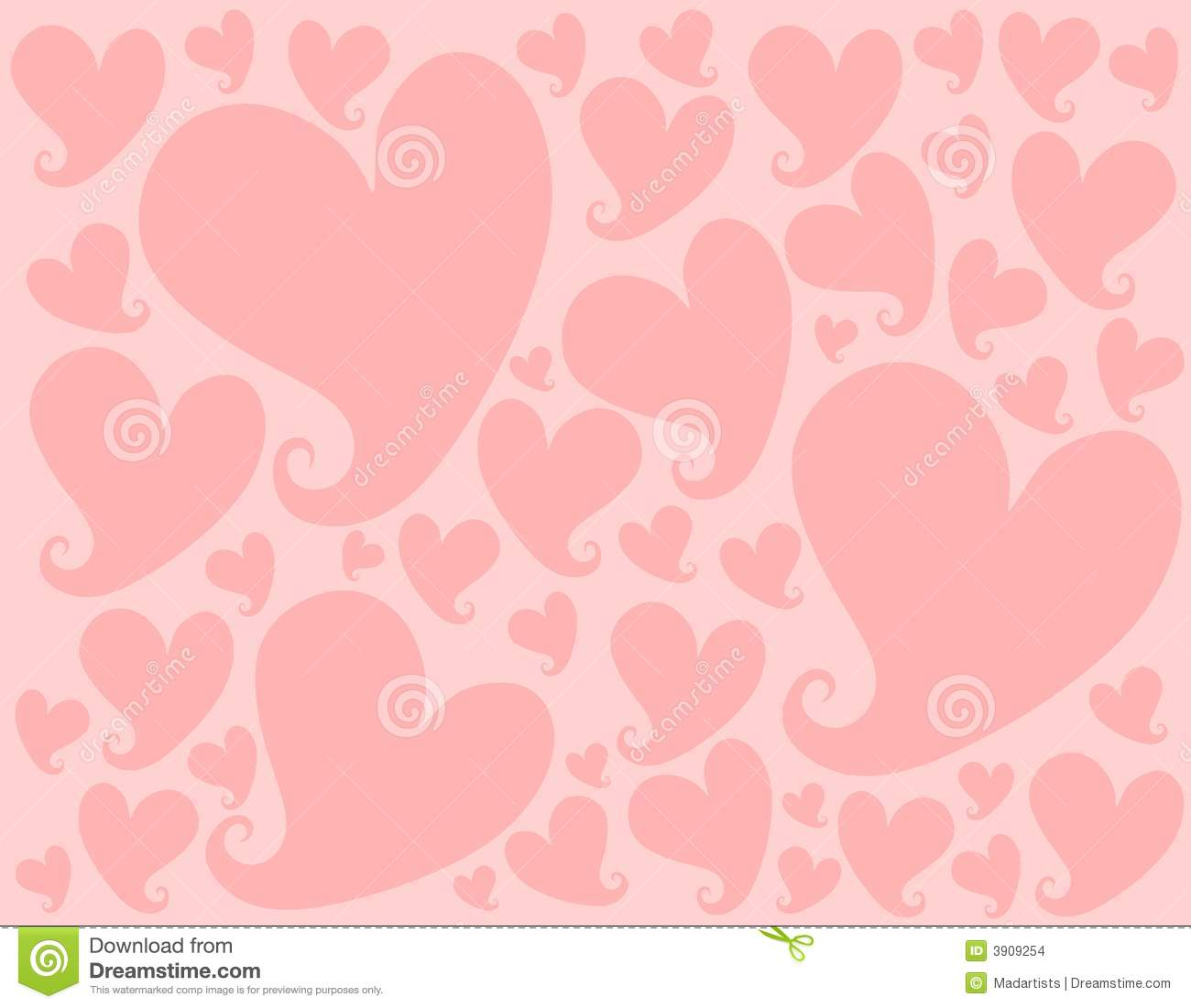 Light Pink Valentine Hearts Background Pattern Stock ...