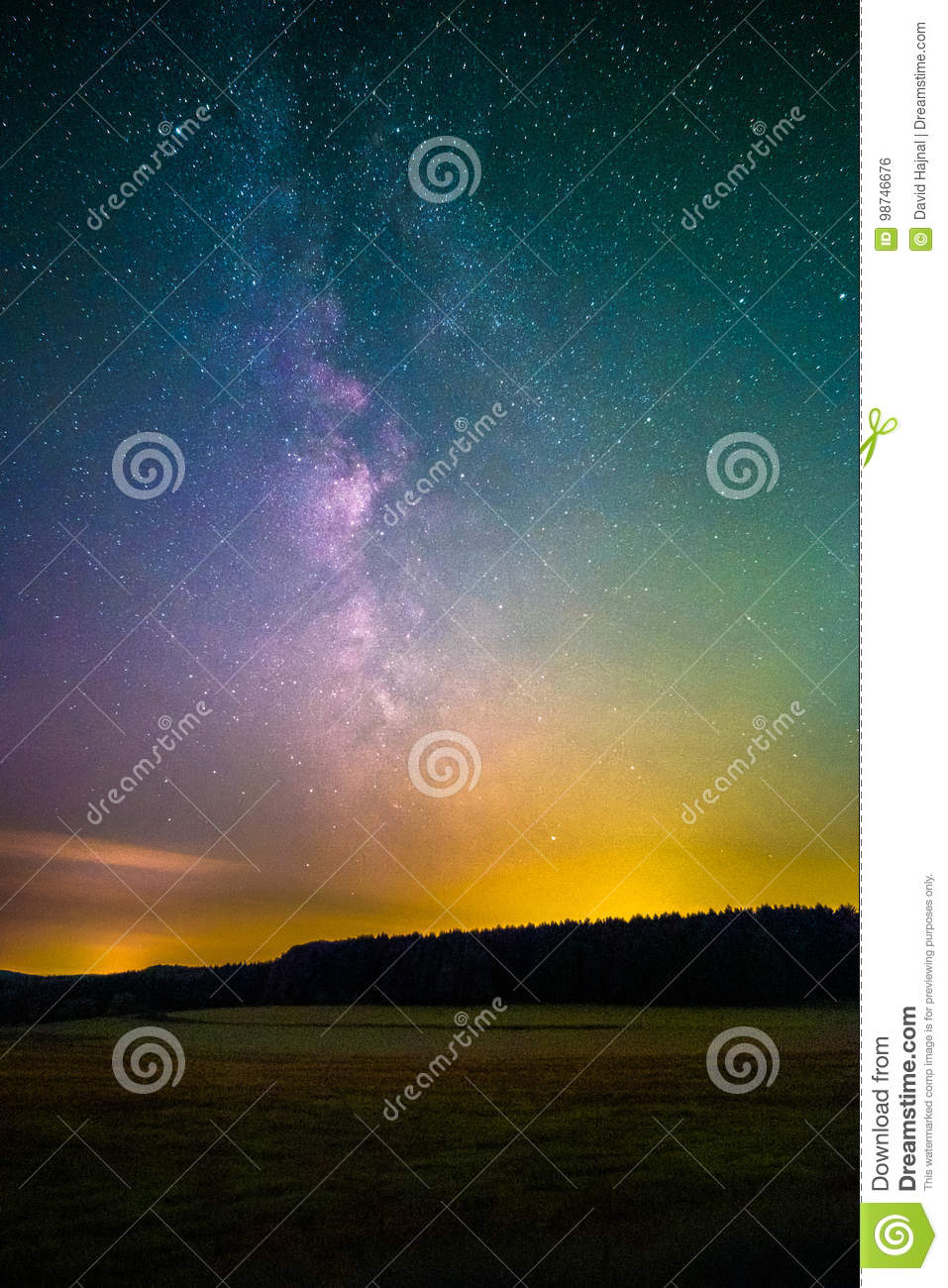 Light Pollution stock photo  Image of astronomy, backgrounds