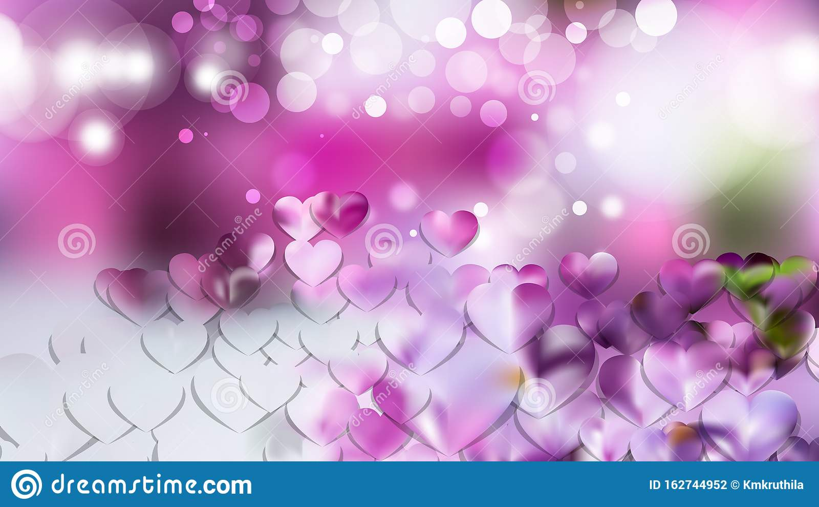 light purple heart wallpaper background 162744952
