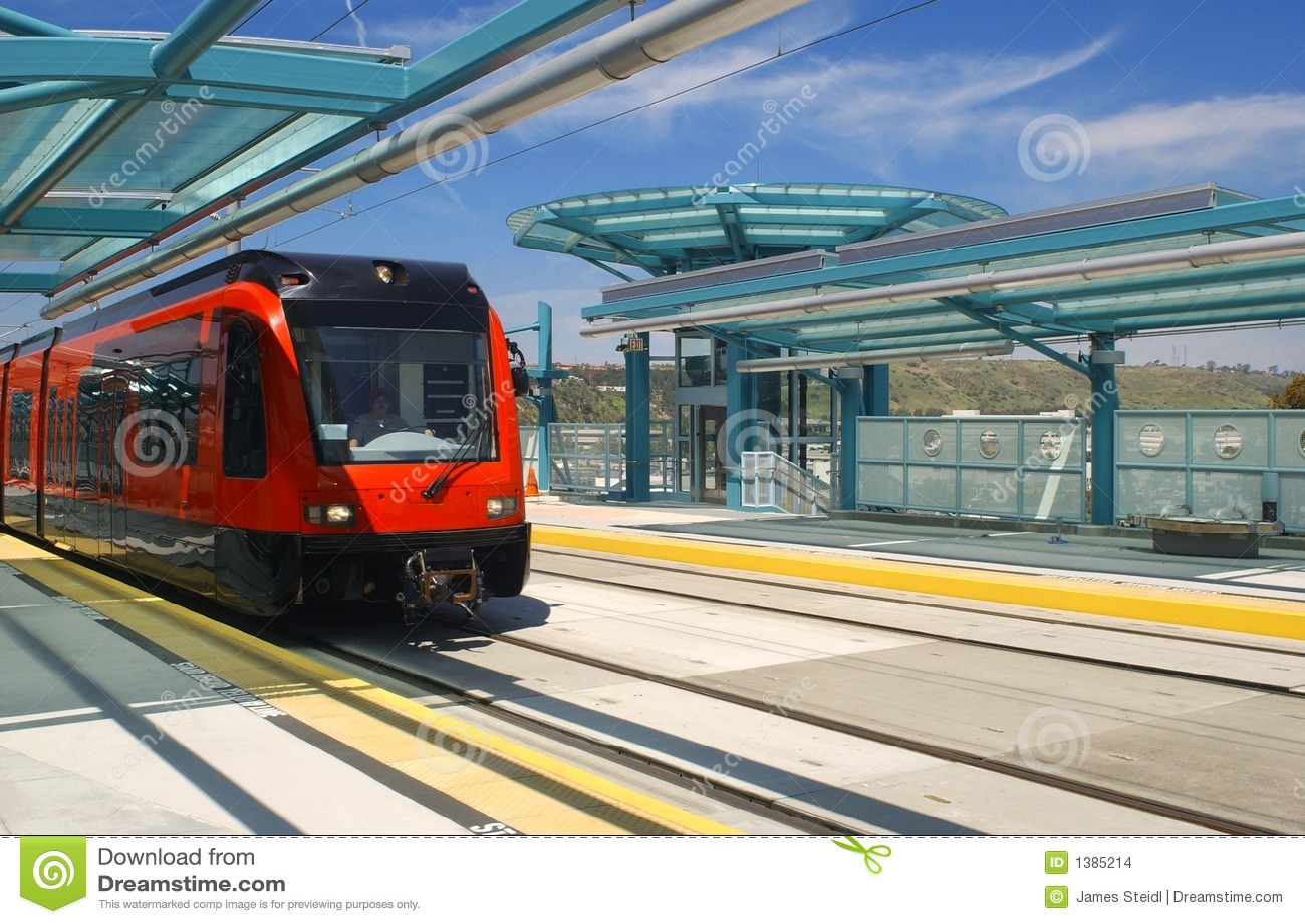 Light rail trolley