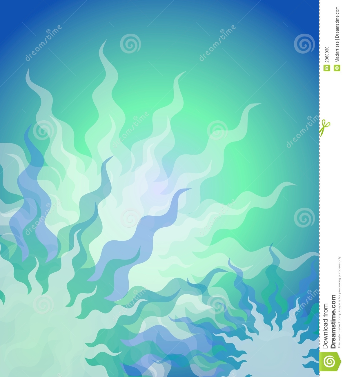 Light aqua background