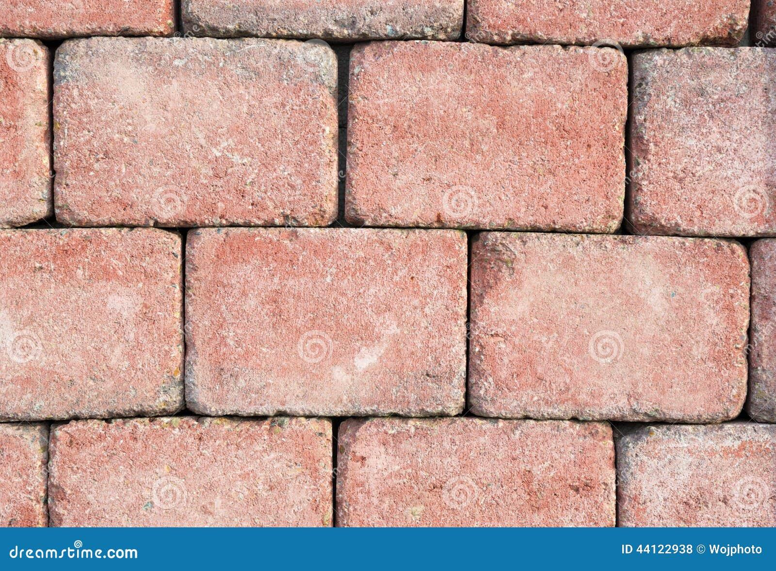 Light Red Brick Wall Texture Stock Photo Image 44122938
