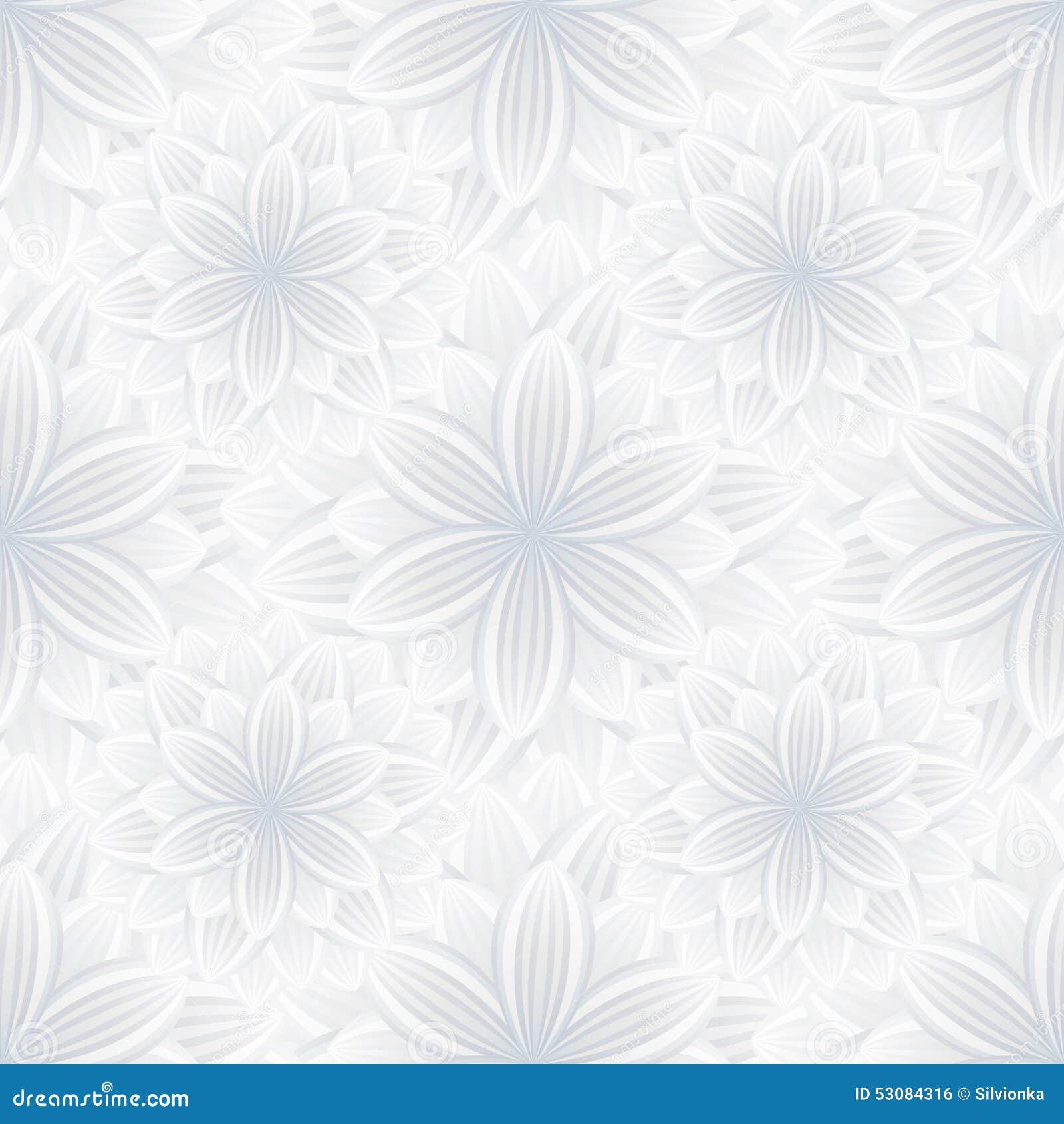 light seamless pattern with flower chrysanthemum stock