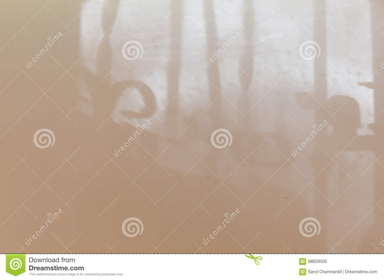 Light And Shadow On Wall From The Window. Stock Photo - Image of ...