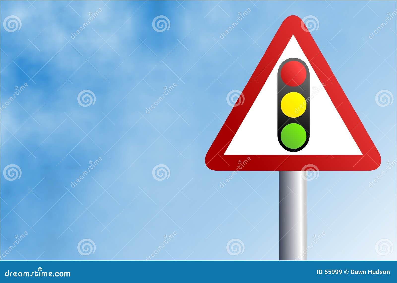 Light sign traffic