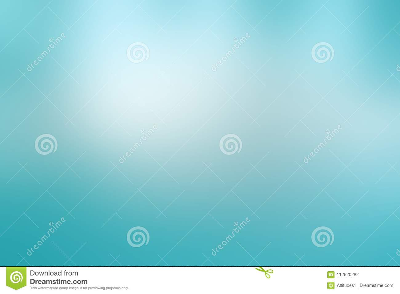 Light sky blue background in pastel spring or Easter colors with cloudy white blurred spots in clean fresh design