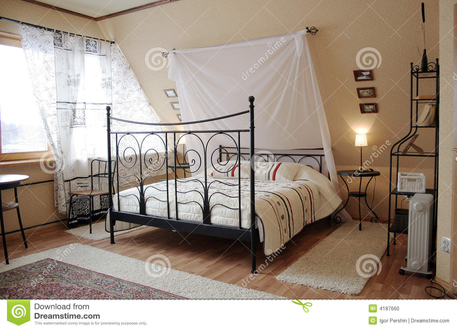 Light sleeping room 2 Stock Photo. Sleeping Room Royalty Free Stock Photos   Image  10963448