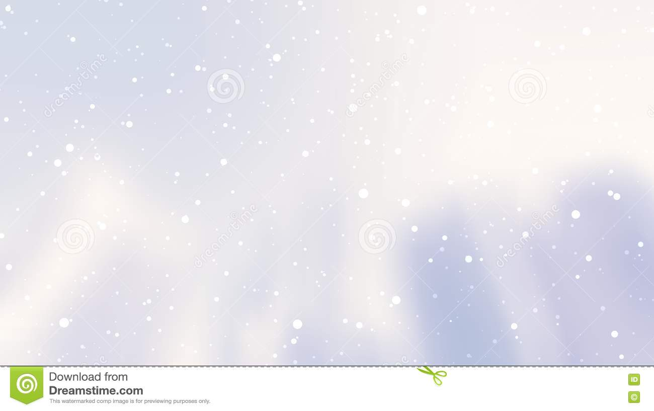 Light Snow On A Background Of City Skyscrapers Banner Light Winter Snow Blurred Background Stock Illustration Illustration Of Emptiness Flare 82042758