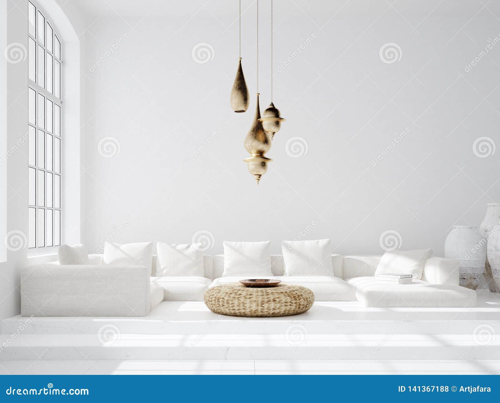 Light And Spacious Bohemian Living Room Scandi Boho Style
