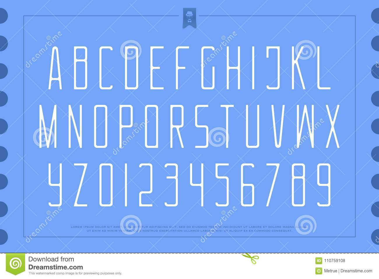 Light style alphabet letters and numbers vector gentle font type light style alphabet letters and numbers vector gentle font type buycottarizona Gallery