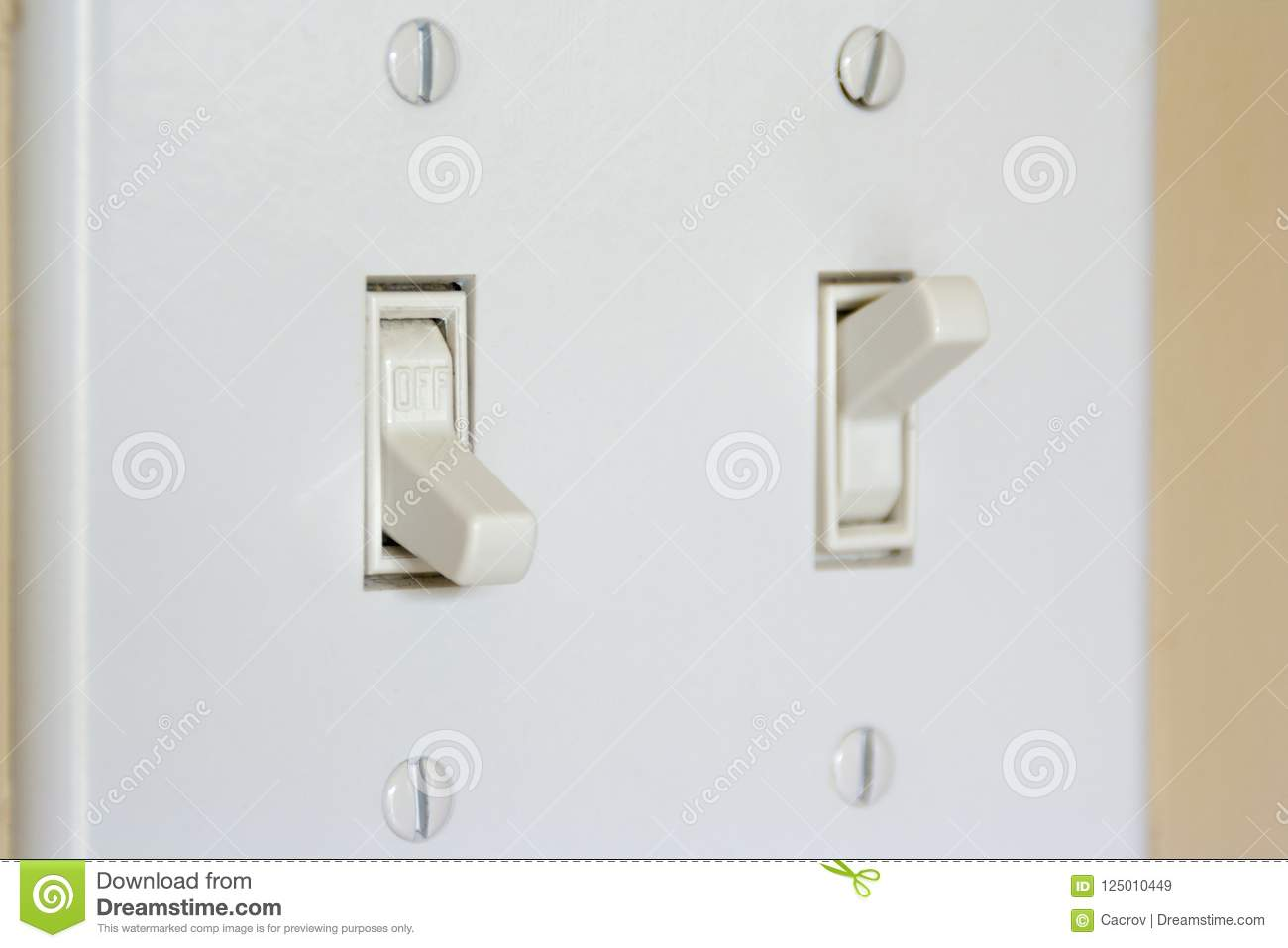 Double Light Switch Double Light Switch Wiring