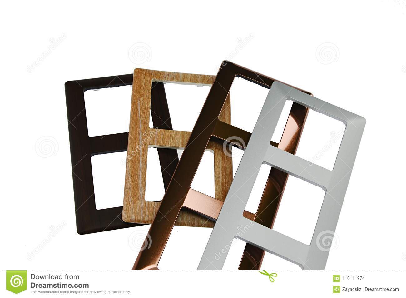 Light Switch Frames With Design Imitating Various Materials Such As ...