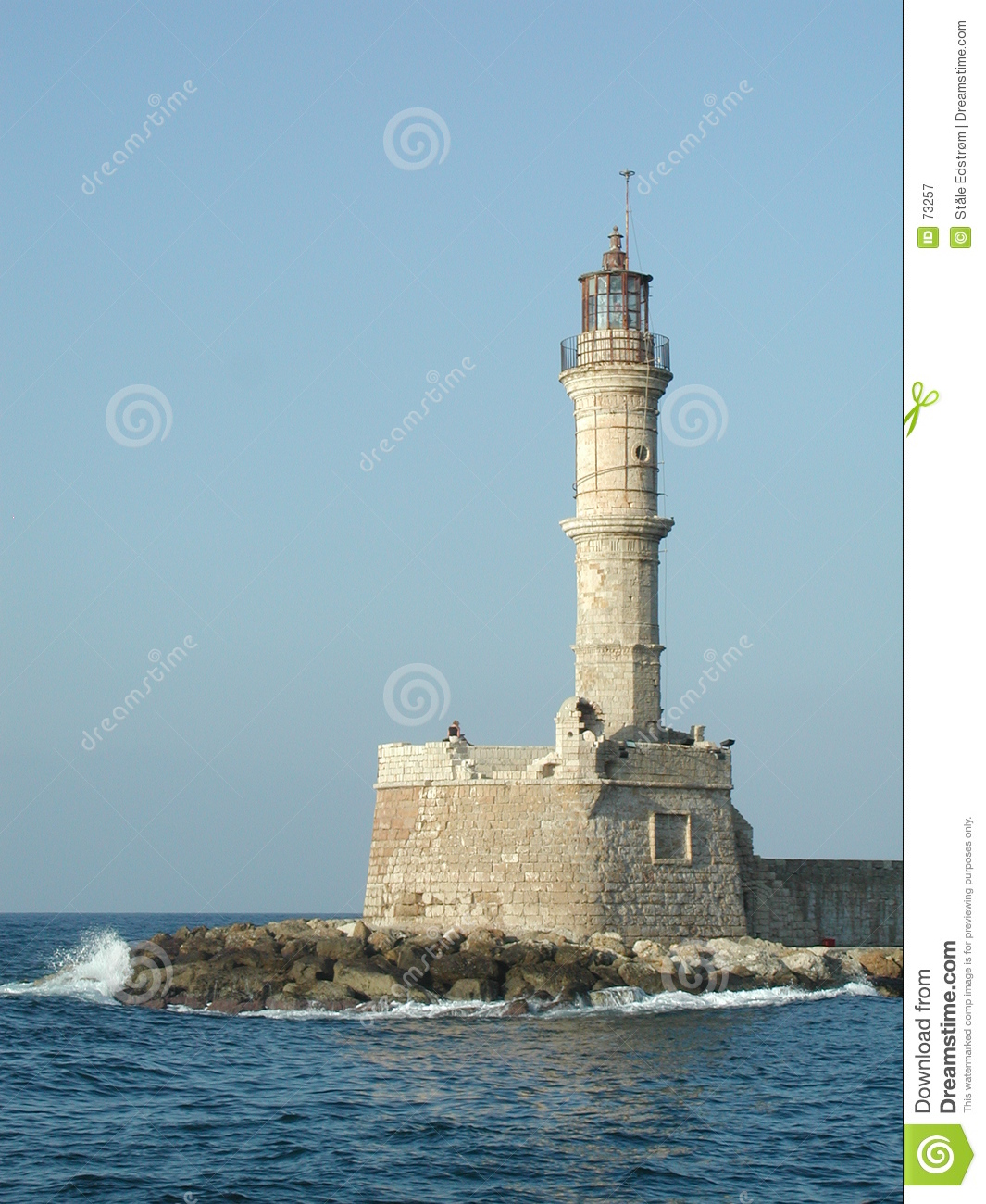 Light Tower Stock Image. Image Of Roman, Guardian, Chania