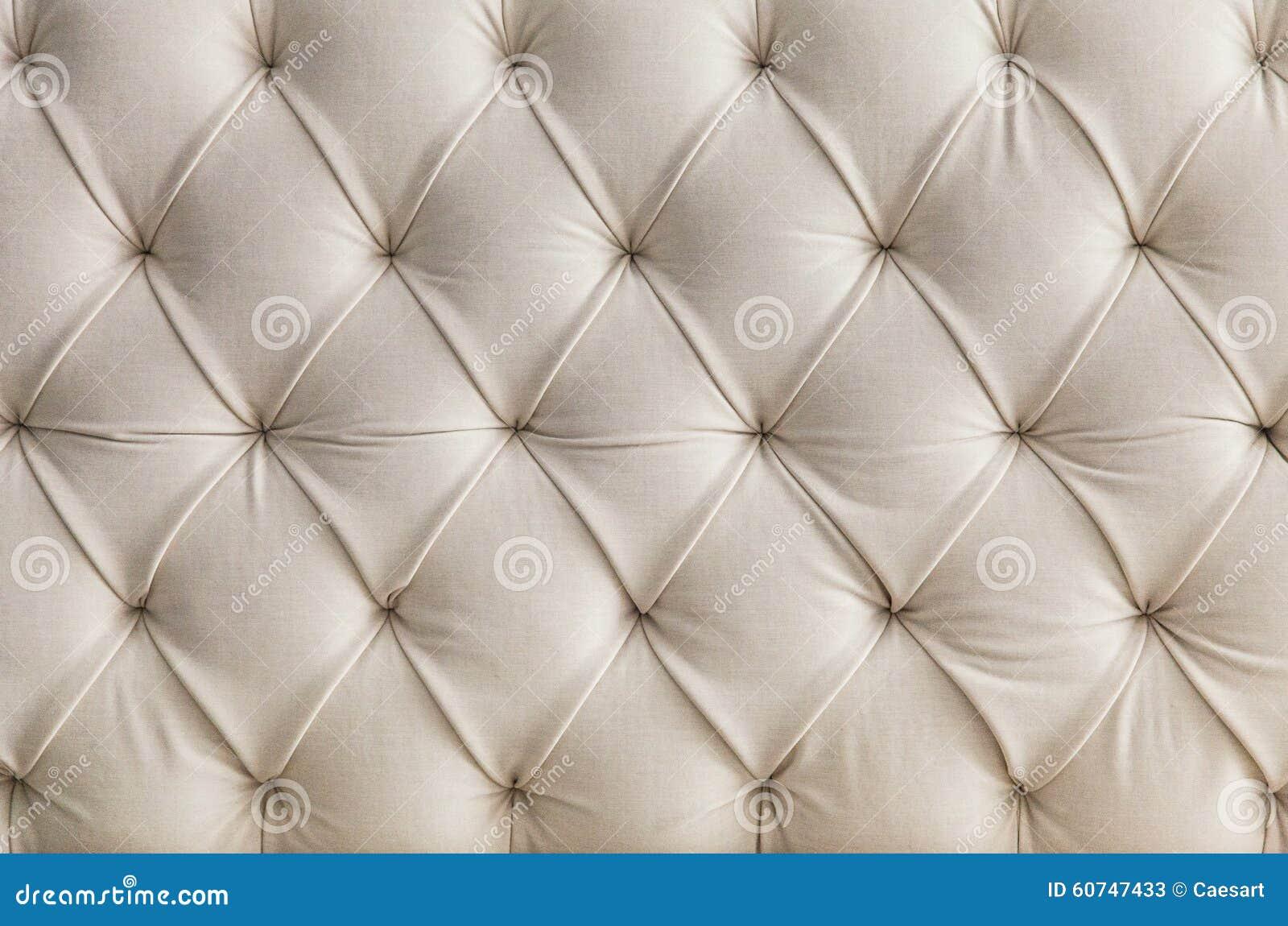 Light Upholstery White Sofa Texture Pattern Background Stock Image
