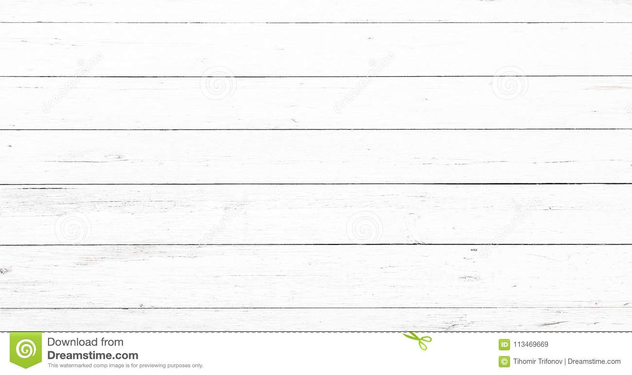 Light white wash soft wood texture surface as background. Grunge whitewashed wooden planks table pattern top view.