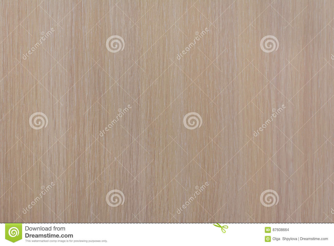 Light Wooden Panel Texture For Background With Vertical Straps