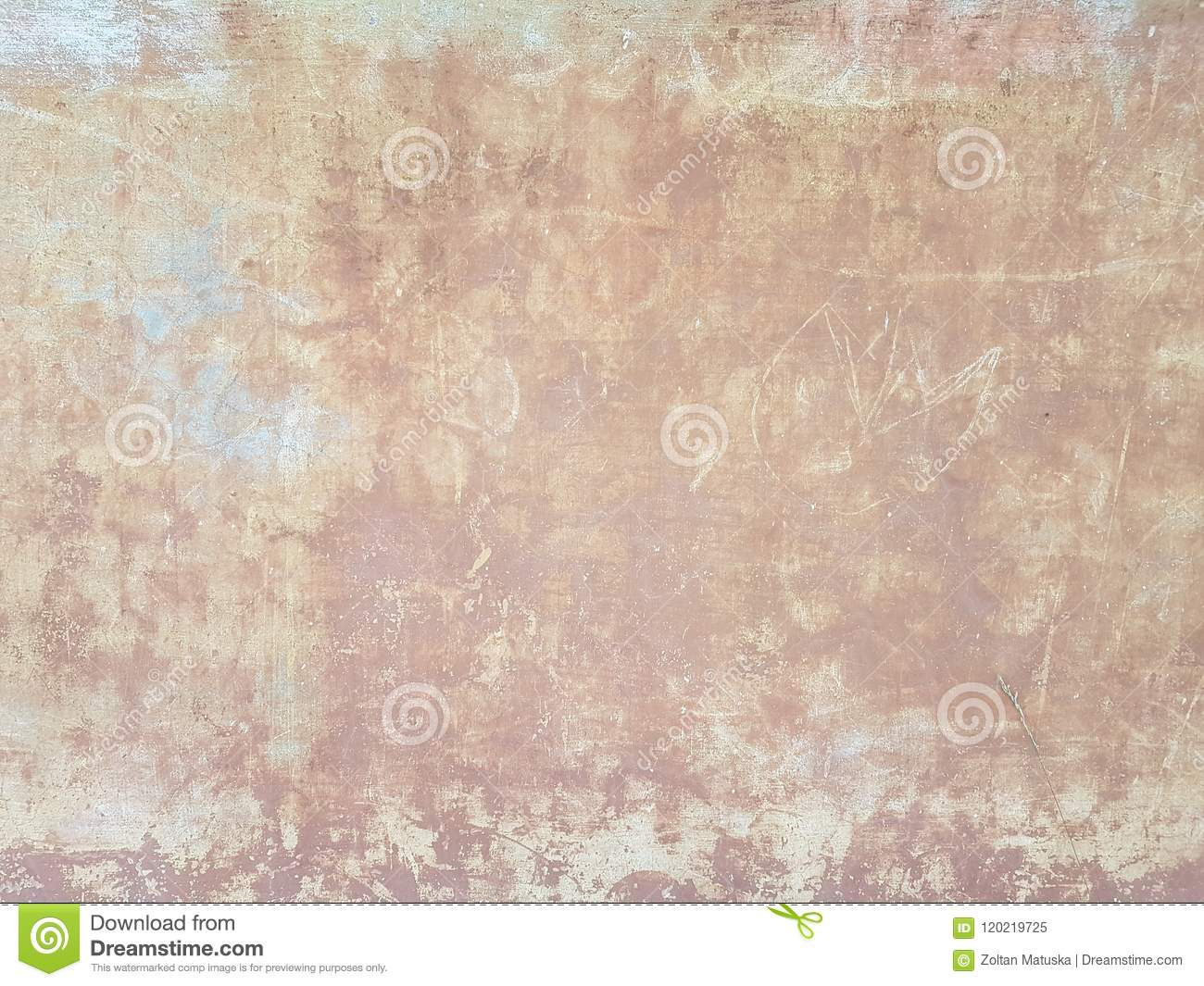 Light Yellow Beige Gunge Old Wall Texture Painted Cement ...
