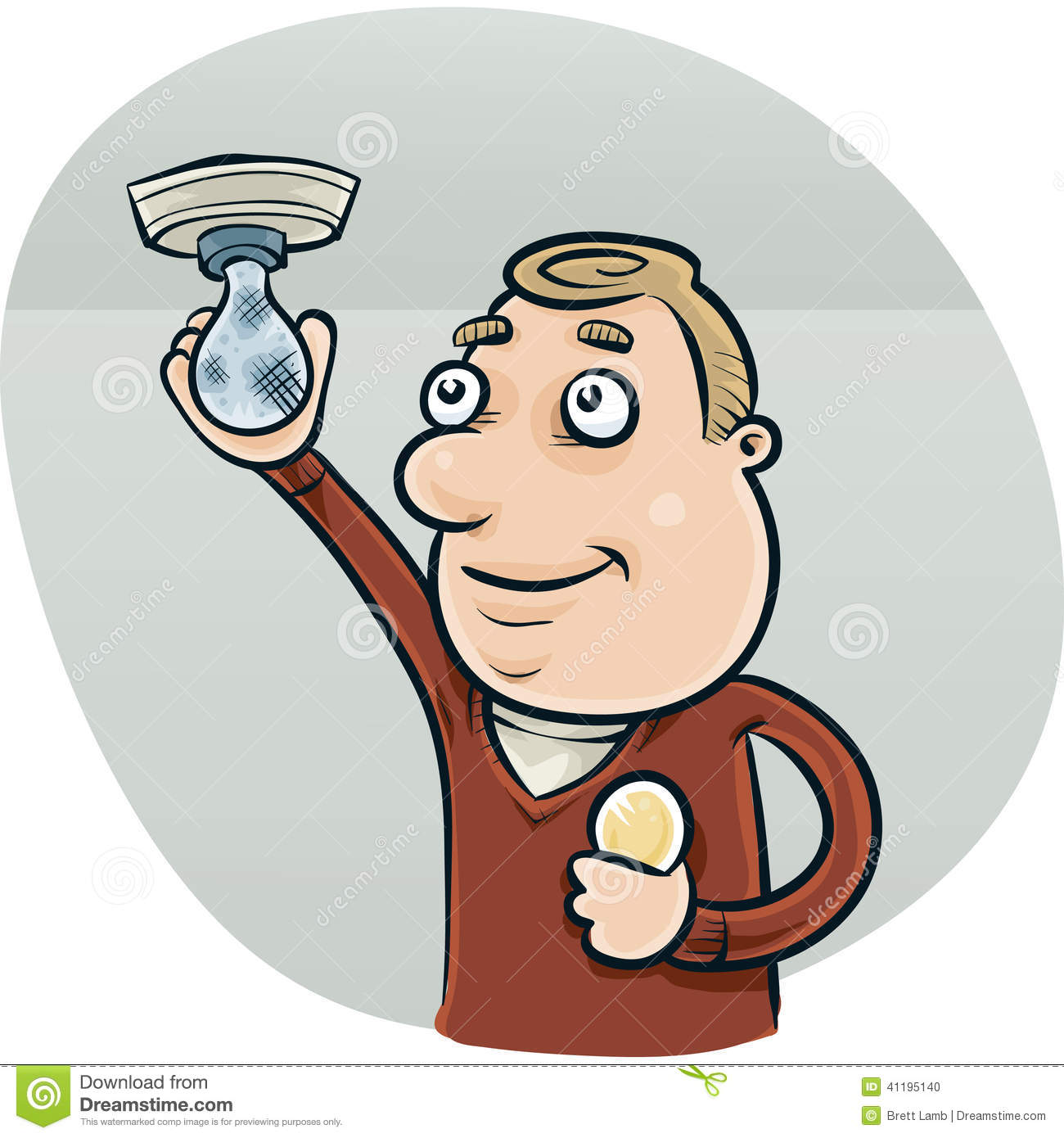 Image result for changing a lightbulb