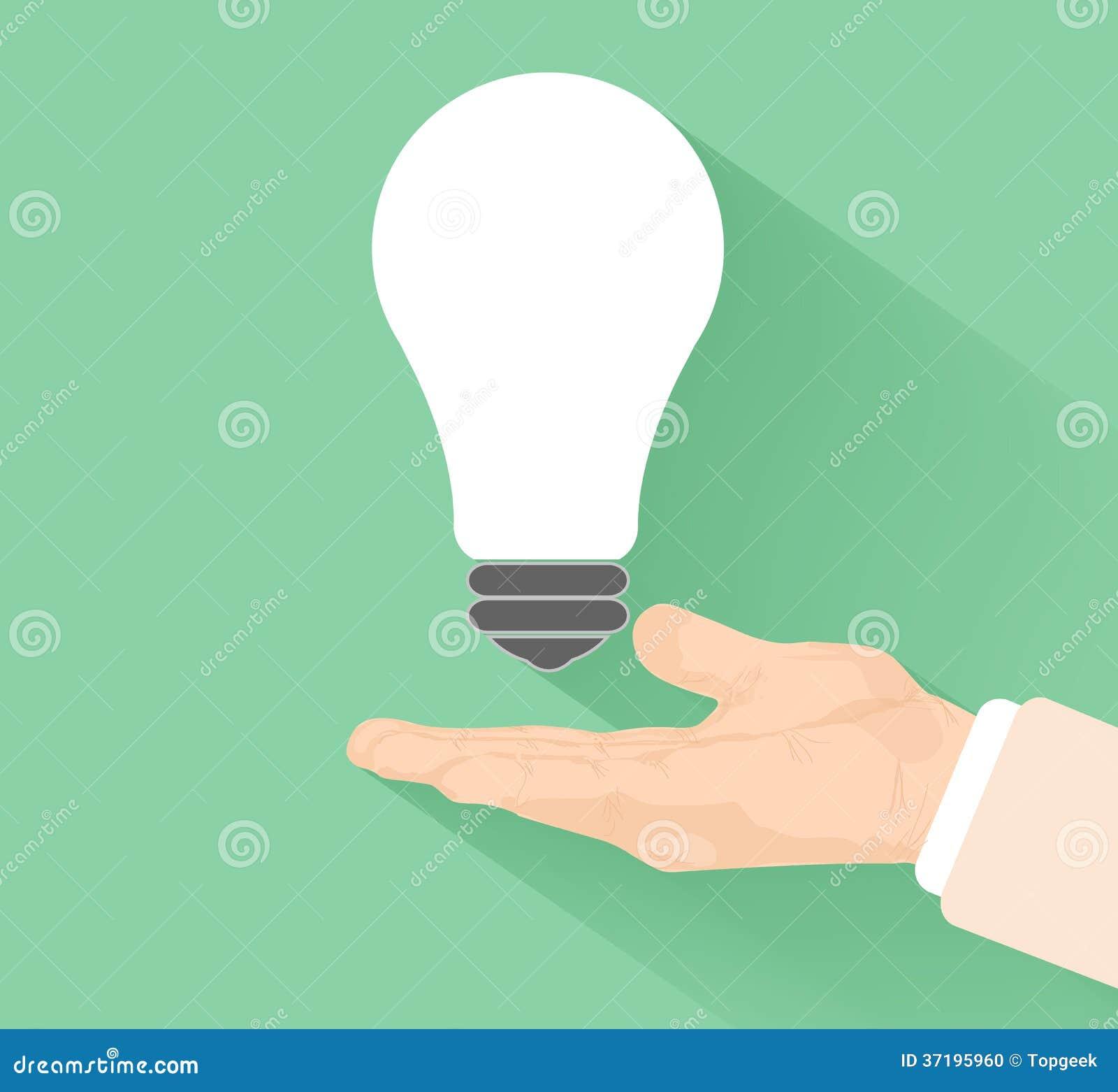 Lightbulb pomysł