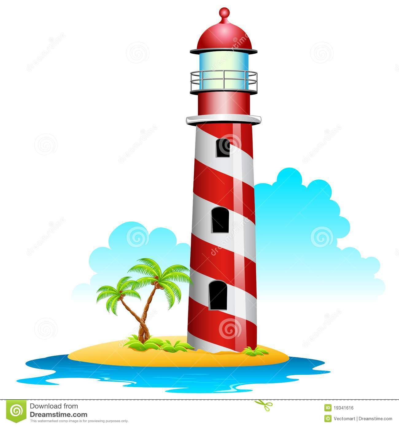 Lighthouse Royalty Free Stock Image - Image: 19341616