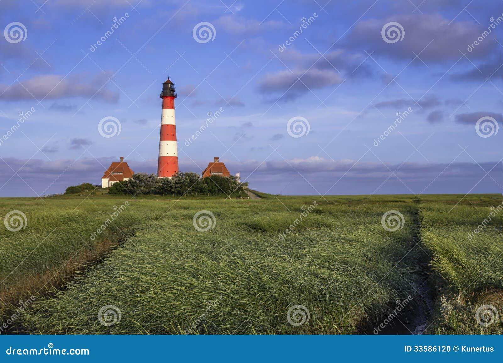 Lighthouse blue Skies