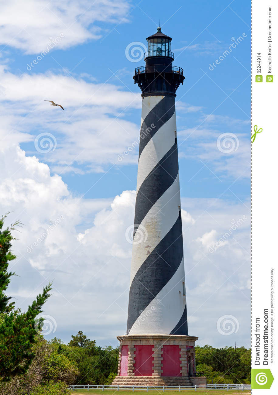 Lighthouse on Cape Hatteras
