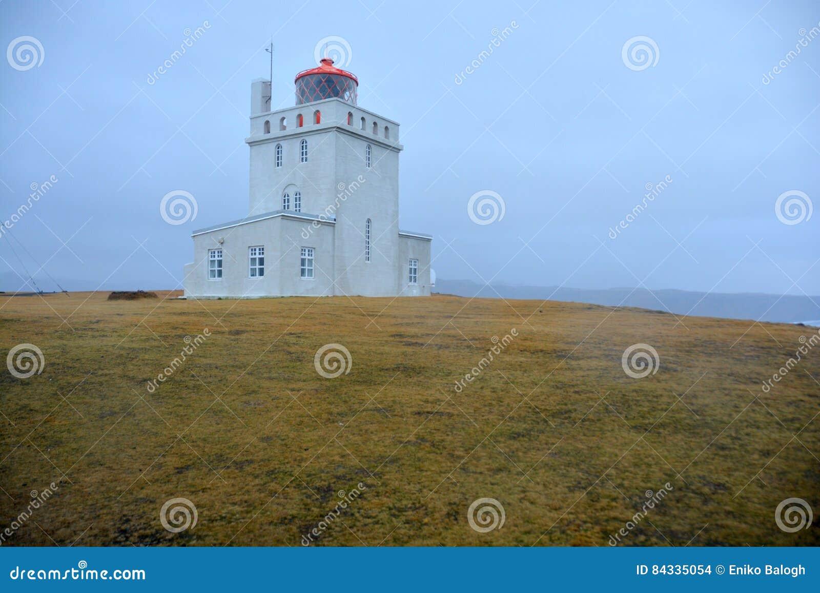 Lighthouse at Dyrholaey Cape