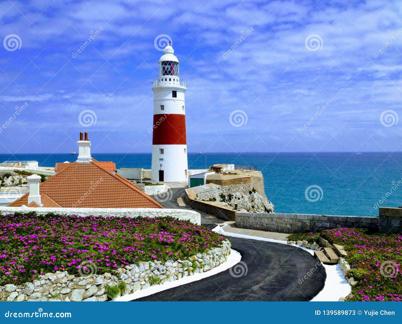 Lighthouse at Europe point, Gibraltar
