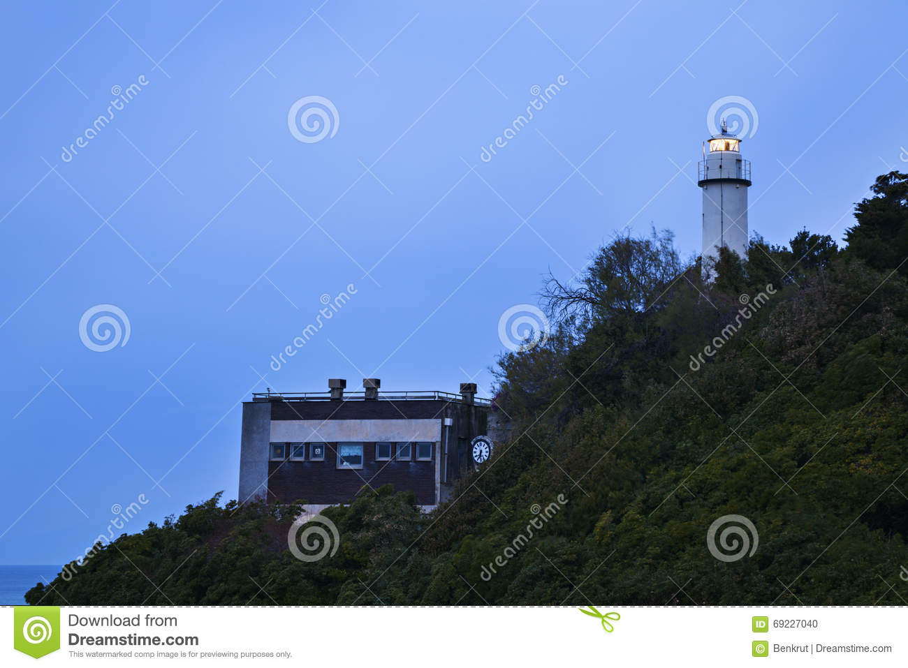 Lighthouse in Genoa