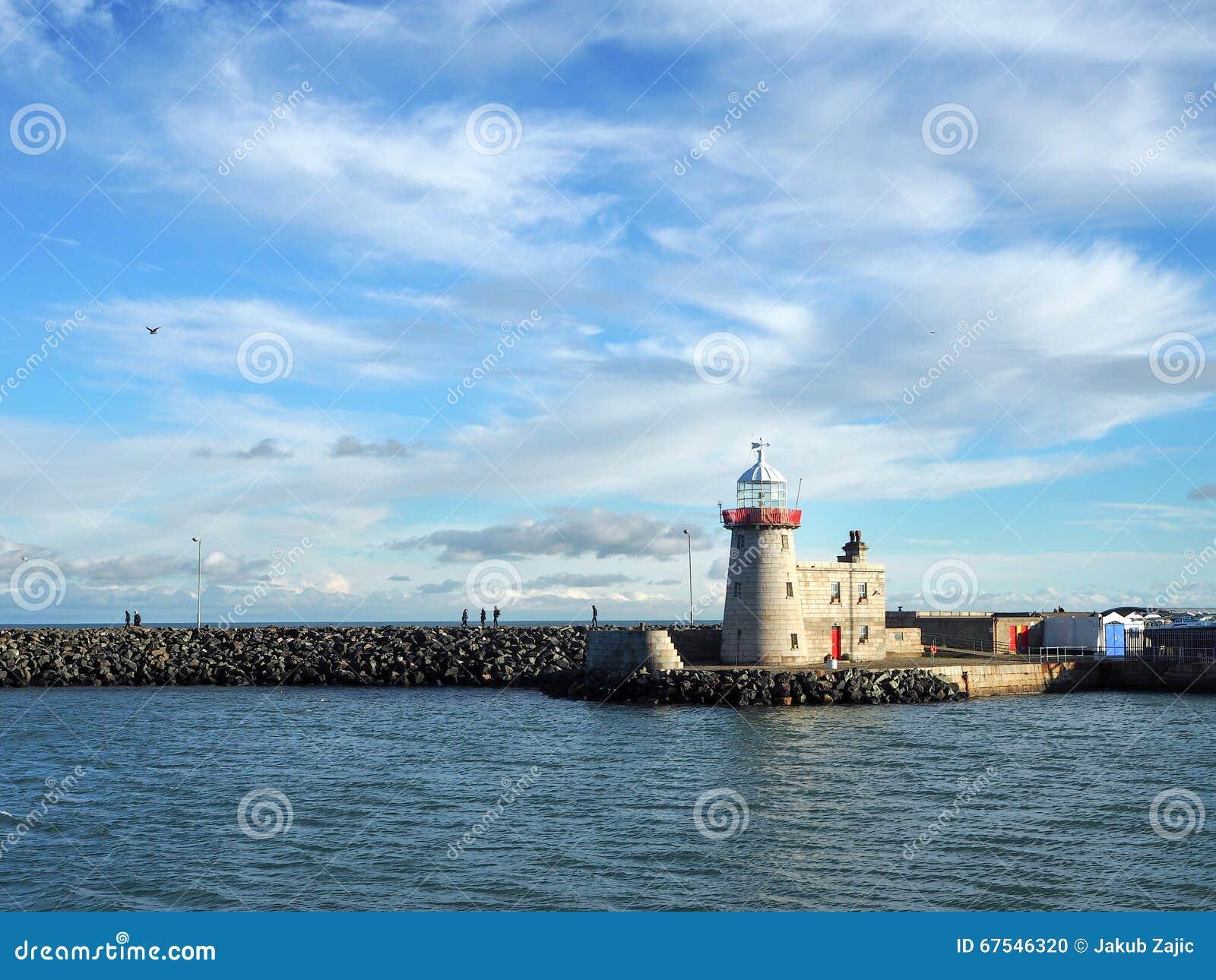 Lighthouse in Howth, Dublin