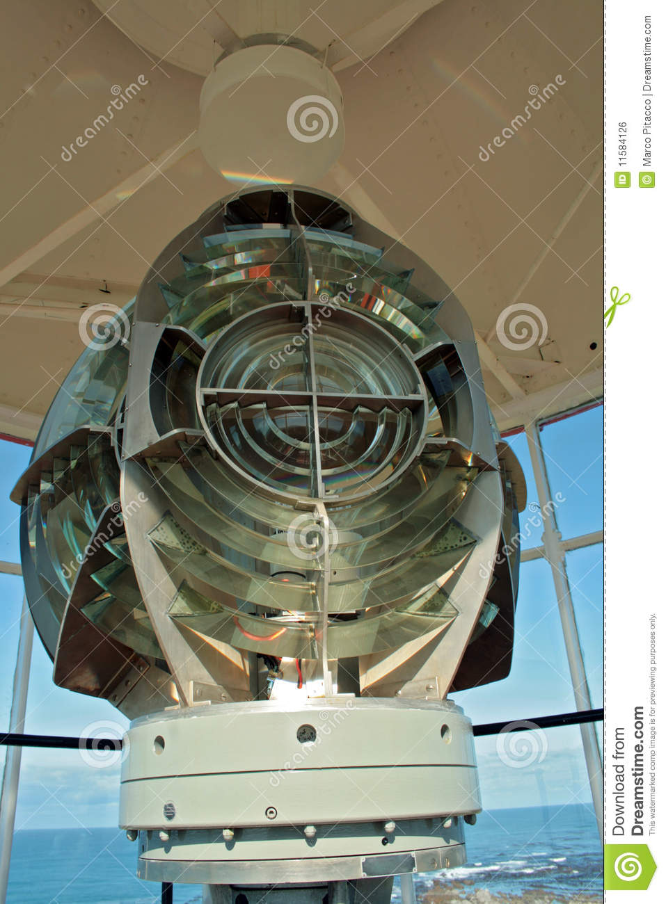 Cottage lighthouse lamp 3 colors - Lighthouse Lamp Royalty Free Stock Image Image