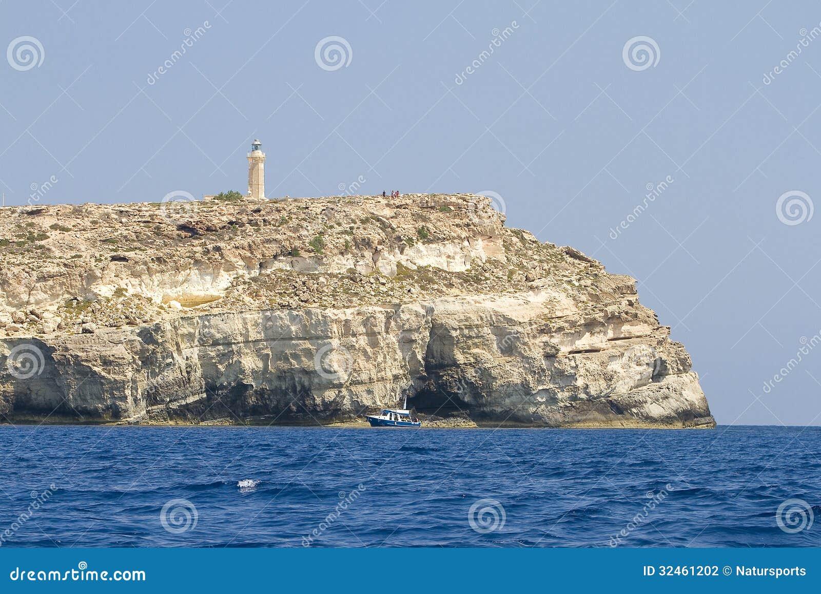 Lighthouse of Lampedusa