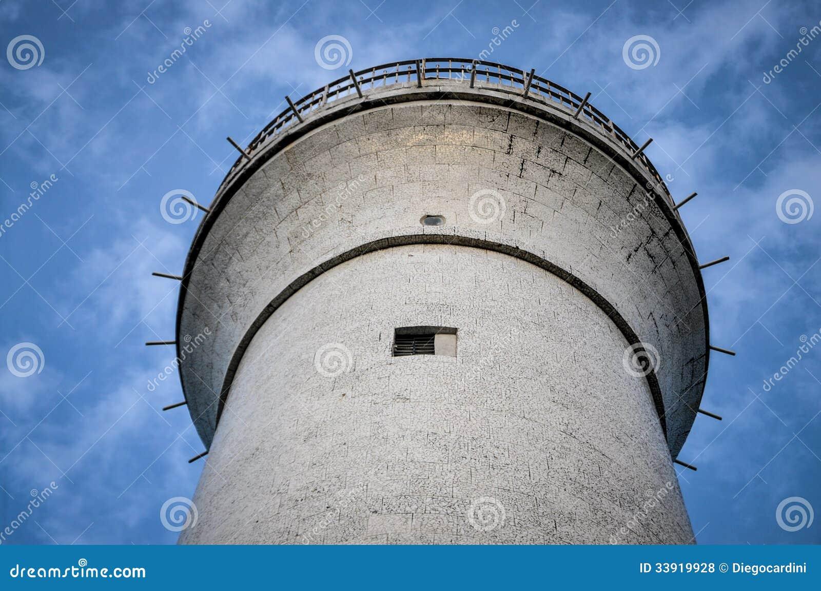 Lighthouse at Morro Do Sao Paulo Island, Bahia, Brazil. South America.