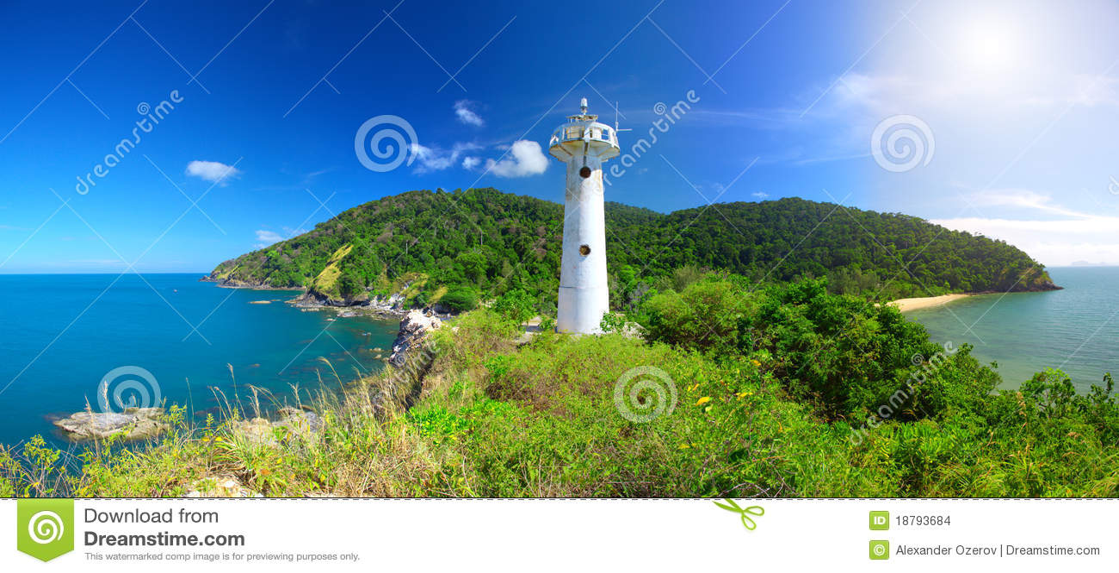Lighthouse and National Park of Koh Lanta, Krabi,
