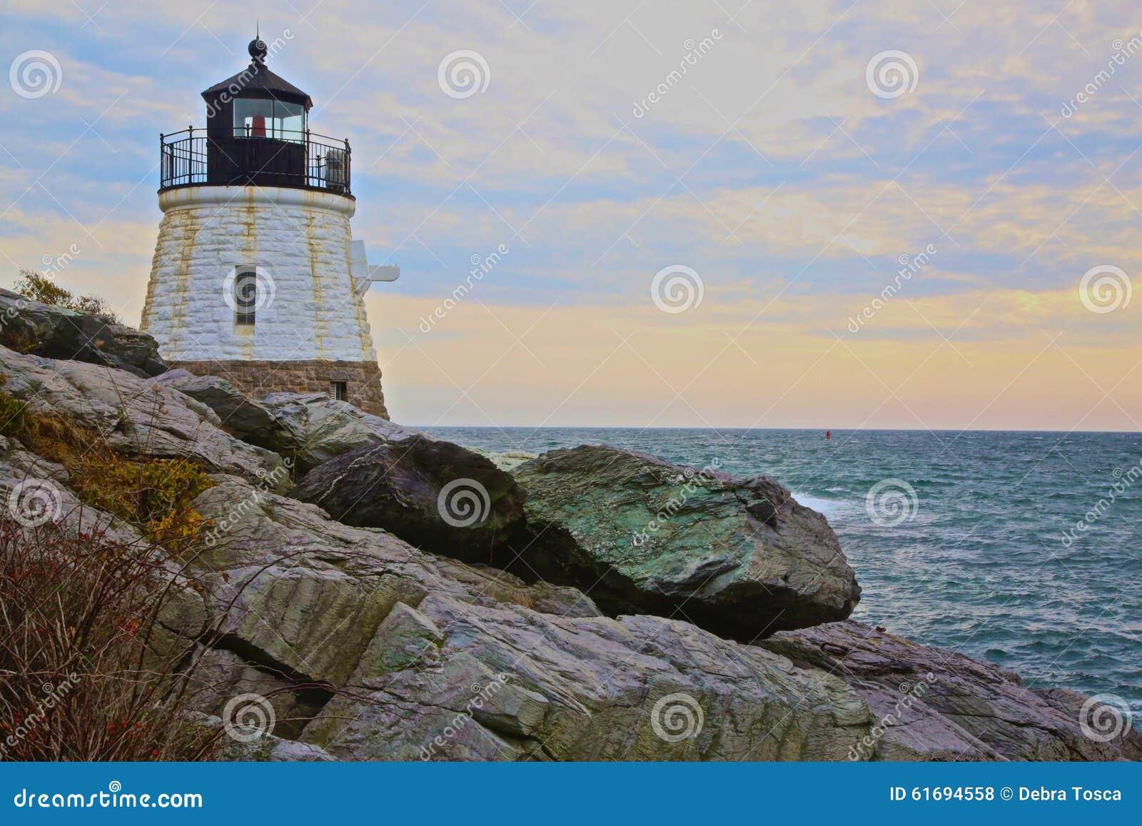 Lighthouse Newport Rhode Island