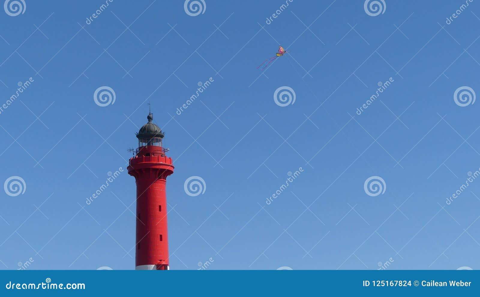 Lighthouse `Phare de la Coubre`