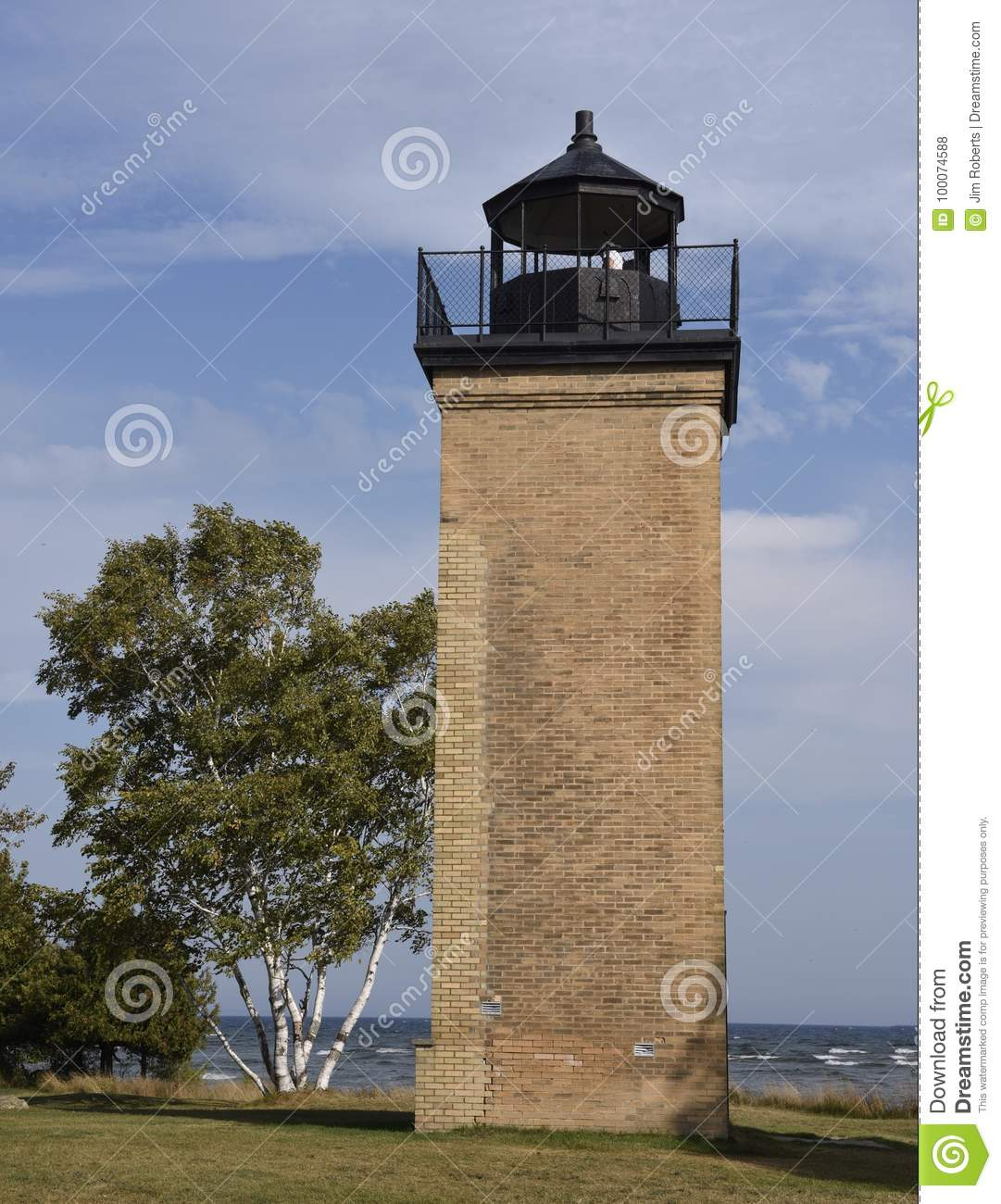 Lighthouse Remains editorial stock photo  Image of places