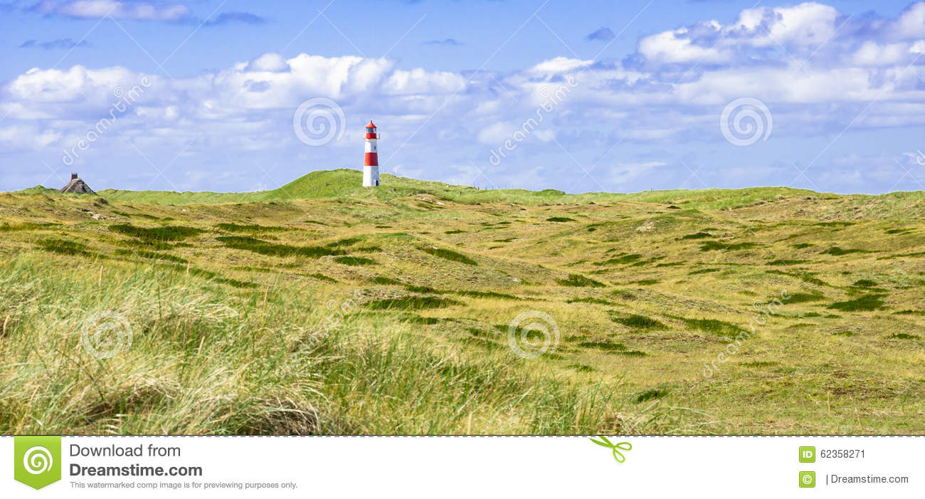Lighthouse at Sylt in Germany