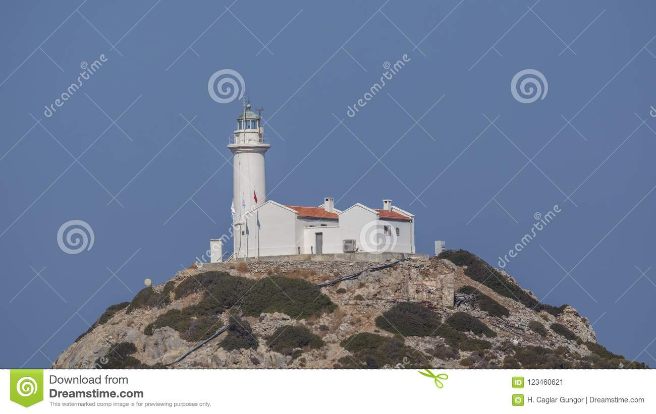Lighthouse on Top of Hill