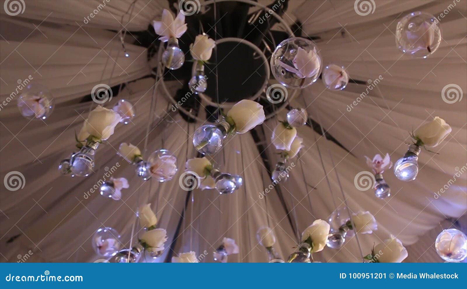 Lighting Decor Bulb Glass Beads Glass Beads Are Hanging On