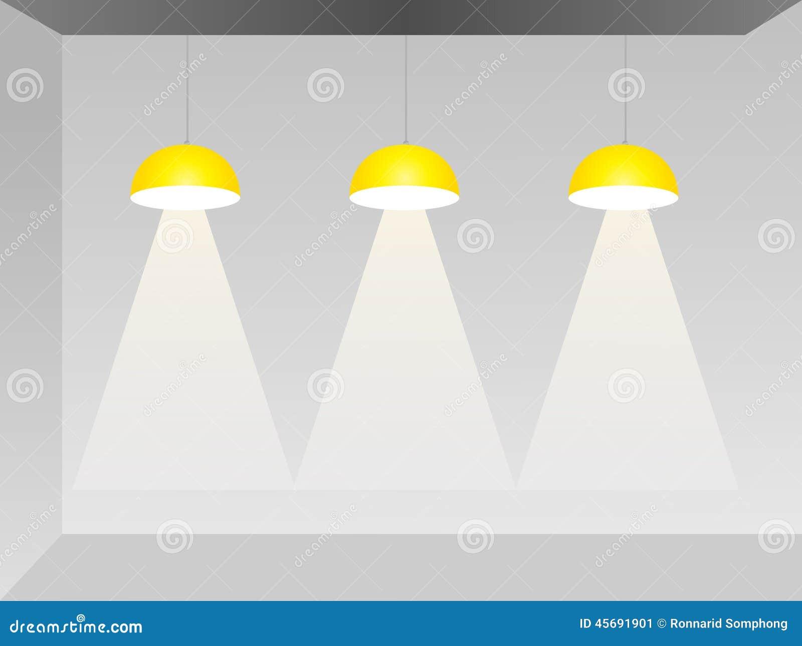 Downlight cartoons illustrations vector stock images for Spotlight design