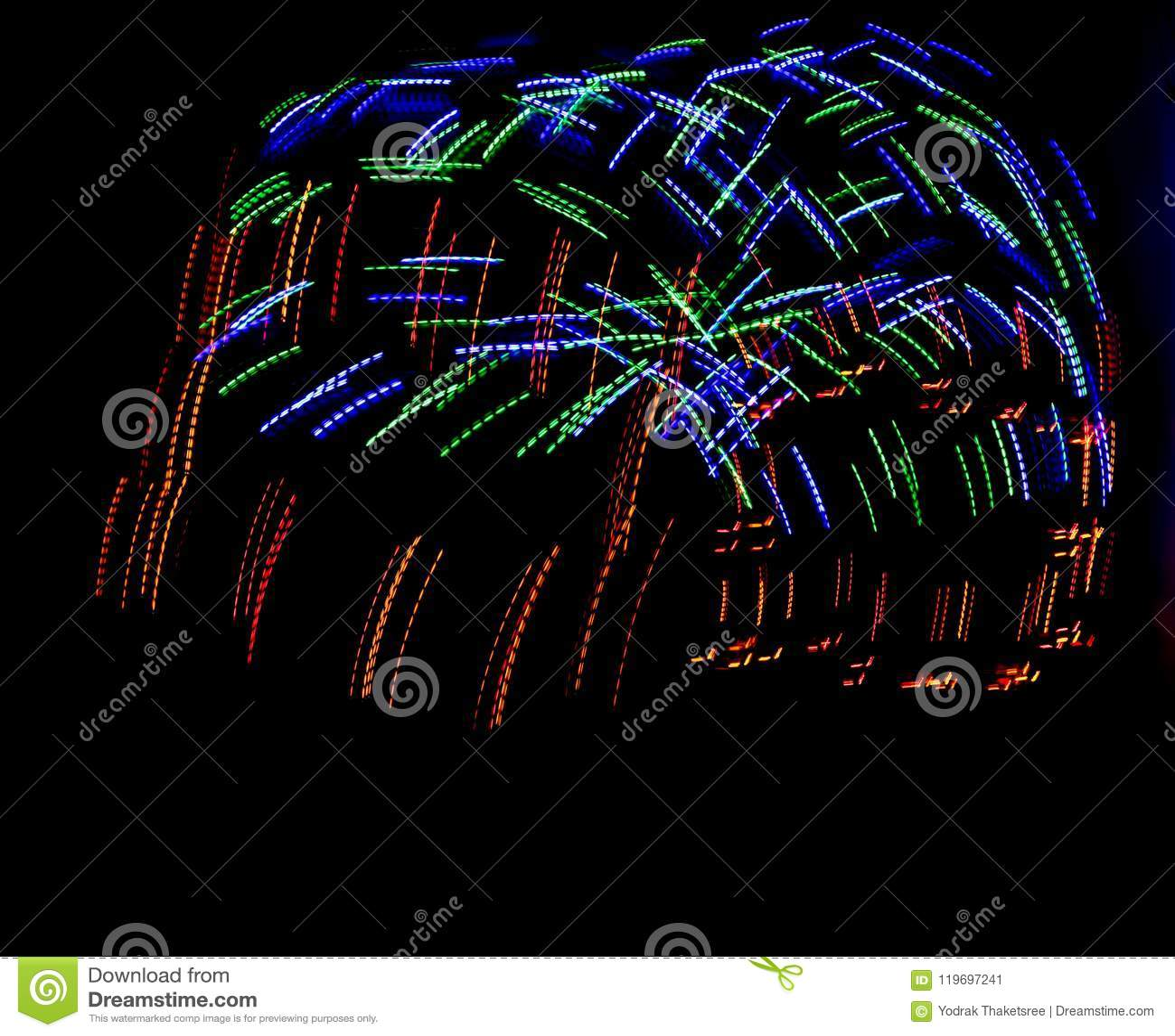Lighting Neo Pattern Background Stock Illustration