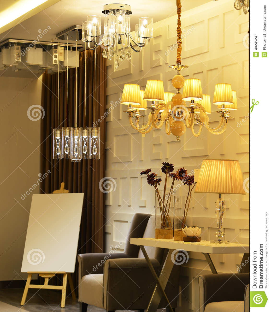 Lighting Store Display Editorial Photography. Image Of